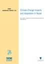 Climate change impacts and adaptation in Nepal (12/29/2010)