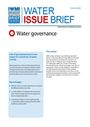 Water governance (8/9/2011)