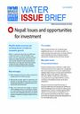 Nepal: issues and opportunities for investment (8/23/2011)