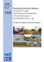 Revisiting dominant notions: a review of costs, performance and institutions of small reservoirs in Sub-Saharan Africa (8/15/2012)