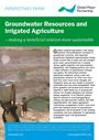 Groundwater resources and irrigated agriculture: making a beneficial relation more sustainable (9/7/2012)