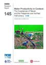 Water productivity in context: the experiences of Taiwan and the Philippines over the past half-century (11/8/2012)