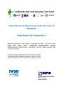 Water resources assessment of the dry zone of Myanmar: final report for component 1. [Project report of the Livelihoods and Food Security Trust Fund (LIFT) Dry Zone Program] (9/20/2013)