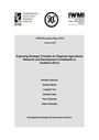 Exploring strategic priorities for regional agricultural research and development investments in Southern Africa (1/30/2014)
