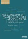 Key concepts in water resource management: a review and critical evaluation (7/22/2014)