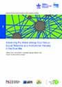 Advancing the water-energy-food nexus: social networks and institutional interplay in the Blue Nile (9/25/2014)