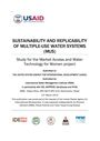 """Sustainability and replicability of multiple-use water systems (MUS). [Project report submitted to the United States Agency for International Development (USAID) under the project """"Study for the Market Access and Water Technology for Women"""" by IWMI, iDE, SAPPROS, Samjhauta and NTAG] (3/18/2015)"""