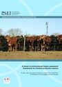 A review of environmental impact assessment frameworks for livestock production systems (5/14/2015)