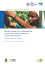 Gender policies and implementation in agriculture, natural resources and poverty reduction: case study of Ghana's Upper East Region (5/19/2015)