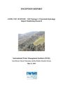 Watershed hydrology impact monitoring research. Inception Report. [Project report of the Building Climate Resilient Watersheds in Mountain Eco-Regions (BCRWME)] (8/24/2015)