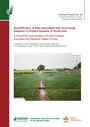 Quantification of risk associated with technology adoption in dryland systems of South Asia: a household level analysis in Andhra Pradesh, Karnataka and Rajasthan states of India (8/27/2015)