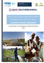 Trends and Outlook: Agricultural Water Management in southern Africa. Country report - Zimbabwe. [Project report submitted to United States Agency for International Development's (USAID's) Feed the Future Program] (2/11/2016)