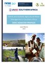 Trends and Outlook: Agricultural Water Management in southern Africa. SADC AgWater profiles. [Project report submitted to United States Agency for International Development's (USAID's) Feed the Future Program] (2/11/2016)
