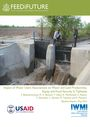 Impact of water-user associations on water and land productivity, equity, and food security in Tajikistan. Baseline Technical Report (12/6/2016)