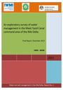 An exploratory survey of water management in the Meet Yazid Canal command area of the Nile Delta. Draft final report (11/1/2017)
