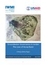 Groundwater governance in Jordan: the case of Azraq Basin. A Policy White Paper (11/29/2017)