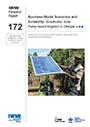 Business model scenarios and suitability: smallholder solar pump-based irrigation in Ethiopia. Agricultural Water Management  Making a Business Case for Smallholders (3/21/2018)