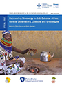 Recovering bioenergy in Sub-Saharan Africa: gender dimensions, lessons and challenges (11/28/2018)