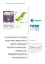 E-flows for the Upper Niger and Inner Niger Delta: specialist reports - hydrology, hydraulics, geomorphology and water quality. [Project report prepared by the International Water Management Institute for Wetlands International] (12/30/2019)
