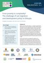 From poverty to complexity?: the challenge of out-migration and development policy in Ethiopia. [Policy Brief of the Migration Governance and Agricultural and Rural Change (AGRUMIG) Project] (3/12/2020)