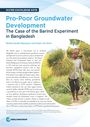 Pro-poor groundwater development: the case of the Barind experiment in Bangladesh (3/21/2020)