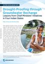 Drought-proofing through groundwater recharge: lessons from Chief Ministers' initiatives in four Indian states (3/21/2020)