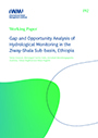 Gap and opportunity analysis of hydrological monitoring in the Ziway-Shala Sub-basin, Ethiopia (11/20/2020)