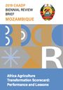 Africa Agriculture Transformation Scorecard: performance and lessons. Mozambique (5/31/2021)