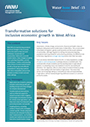 Transformative solutions for inclusive economic growth in West Africa (7/8/2021)