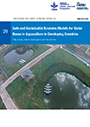 Safe and sustainable business models for water reuse in aquaculture in developing countries (8/6/2021)